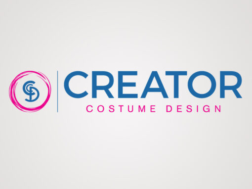 Creator Costume Design Horizontal Logo