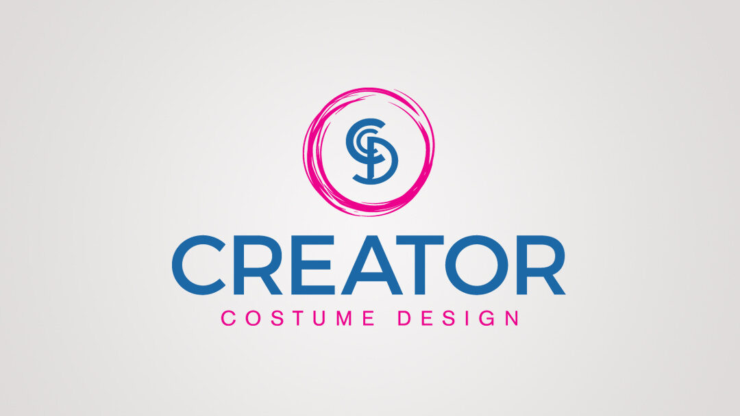 Creator Costume Design Stacked Logo
