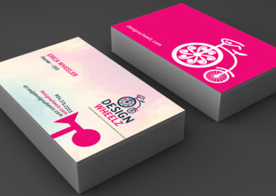 Design Wheelz Business Card