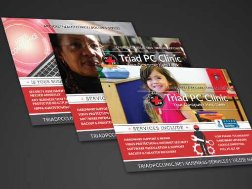 Triad PC Clinic Direct Mail