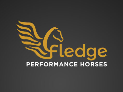 Fledge Performance Horses Logo
