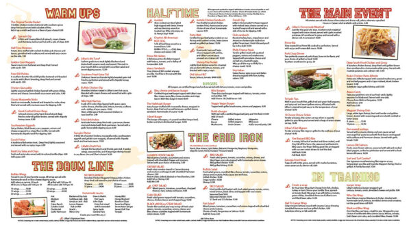 lillians-menu