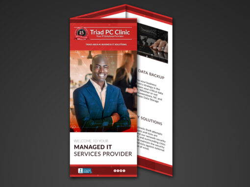 Triad PC Clinic Trifold Brochure